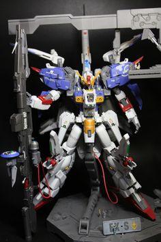 Ex-S Gundam Customized Build by YOSUPE2   Gundam Century
