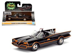 1966 TV Series Classic Batman Batmobile 1/32 Diecast Model Car by Jada - Brand new 1:32 scale diecast car model of 1966 TV Series Classic Batman Batmobile die cast car model by Jada. Detailed exterior. Dimensions approximately L-4.5, H-2, W-2 inches. Please note that manufacturer may change packing box at any time. Product will stay exactly the same.-Weight: 1. Height: 5. Width: 9. Box Weight: 1. Box Width: 9. Box Height: 5. Box Depth: 5