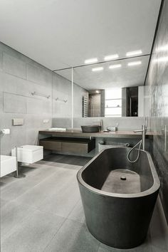 Modern bathroom inspiration by COCOON | bathroom design products | bathroom design | contemporary freestanding bath tubs | sturdy stainless steel bathroom taps | interior design | villa design | hotel design | Dutch Designer Brand COCOON | Just The Design By UNK Project
