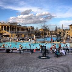 Turkish Baths- Budapest, Hungary