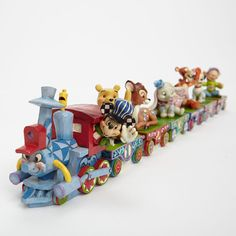 Jim Shore Mickey and Friends Train Set. All aboard! I want for my first baby