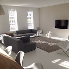Woonkamer on Pinterest  Taupe, Taupe Walls and TVs
