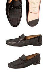 FashionShirtBoutique.com — NEW ARRIVAL - Mezlan - SALINAS - Grey/Black