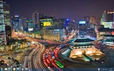 Seoul - although in all honesty, I really only remember our Hotel and the taxi driver with a bladder issue.