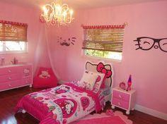 Hello Kitty Girls Bedroom eclectic kids