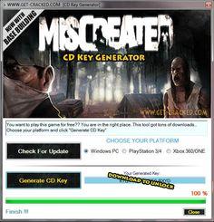 Miscreated CD Key Generator 2016 Full Game