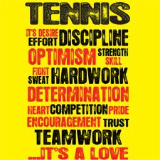 This is what tennis is. No one understands how hard this sport is.