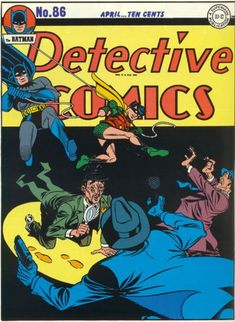 Cover for Detective Comics (DC, 1937 series) #86  This issue is from 1944