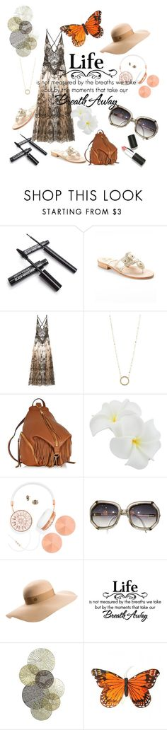 """Untitled #25"" by noa-antebi-pinto on Polyvore featuring Jack Rogers, Lana, Rebecca Minkoff, BaubleBar, Maison Michel, Universal Lighting and Decor, Sigma Beauty, women's clothing, women's fashion and women"