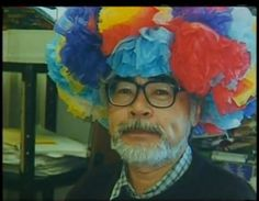 Hayao Miyazaki, on his 60th birthday. He didn't choose the thug life
