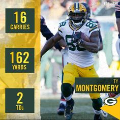 Great game, Ty Montgomery!