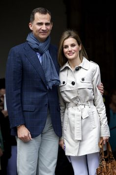 These two will be the new King and Queen of Spain. Felipe and Letizia. #royalty