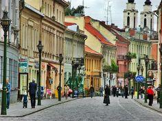 vilnius old town Vilnius, Lithuania
