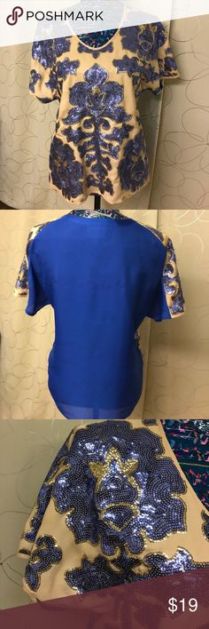 Blouse Beautiful blouse, great condition! Tracy Reese Tops Blouses