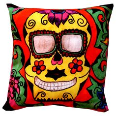Designer decorative #Mexican #pillow № gd100