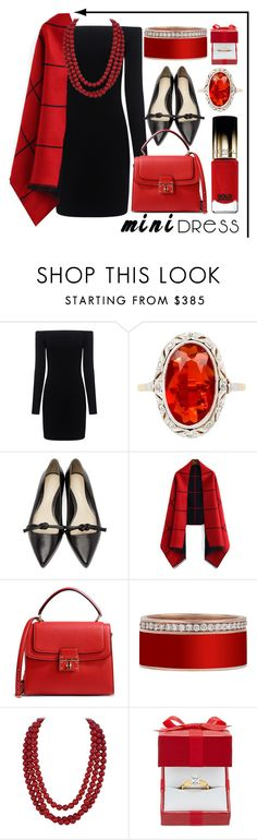 """""""mini dress"""" by lillybluemoon ❤ liked on Polyvore featuring TIBI, 3.1 Phillip Lim, Dolce&Gabbana and L'Oréal Paris"""