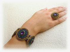 Gorgeous Bracelet and Ring  via BéKata Ékszerei