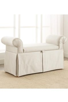 Skirted Queen Bench in several colors $255
