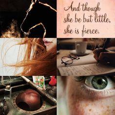 Ginny Weasley aesthetic