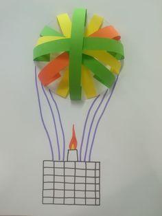 Vole vole jolie montgolfière
