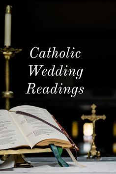 List of Readings for Your Catholic Mass Wedding! List of Readings for Your Catholic Mass Wedding! Catholic Wedding Readings, Church Wedding Catholic, Church Readings, Catholic Marriage, Mass Readings, Wedding Ceremony Readings, Catholic Mass, Catholic Bible, Scripture Readings For Weddings