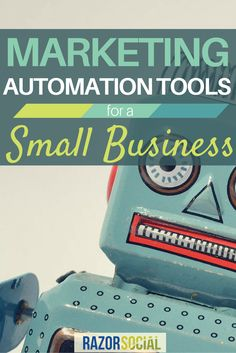 Wondering if you should be thinking about implementing a marketing automation tool? This article will help you make the decision over what type of tool you need and if you need one! http://www.razorsocial.com/marketing-automation-tool-options-small-business/