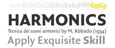 FF Quadraat Sans from FontFont. #fonts #fontshop