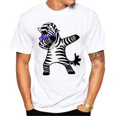 2017 Summer Fashion Dabbing Pug T-Shirt Newest Men Funny T Shirts Dabbing Unicorn/Cat/Zebra/Panda Tops Hip Hop Tee Pink T Shirt Mens, Male T Shirt, Mens Printed T Shirts, Branded T Shirts, Simple Shirts, Tshirts Online, Mens Tees, Funny Tshirts, Shirt Style