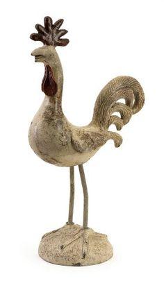 Rocardo Rooster with Metal Legs Rooster Statue, Galo, Coq, A Cartoon, Wall Sculptures, Wood Carving, Designing Women, Folk Art, Garden Sculpture