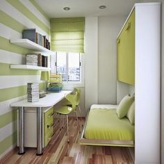 The Extraordinary gorgeous fancy small bedroom hidden bed photo