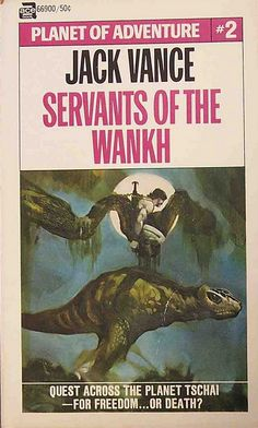 Pulptastic Book Covers From Sci-Fi Legend Jack Vance