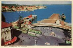 Beautiful MANLY postcard folder with photos by Frank Hurley, State Library of Victoria Manly Sydney, A Moment In Time, Sea Side, North Shore, South Wales, Back In The Day, Genealogy, Old Photos, Melbourne