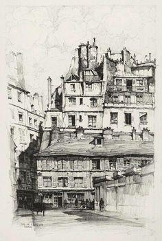 Samuel Chamberlain 1895-1975, illustrateur American