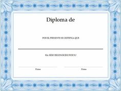 formato para crear diplomas Certificate Design Template, Resume Template Free, Templates, Types Of Resumes, Save Link, Functional Resume, Resume Words, Certificate Of Completion, First Job