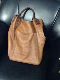 Rabeanco Leather Bag in Tan