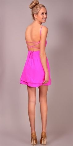 Serena Bareback Sweetheart Dress