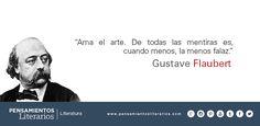 Gustave Flaubert. Sobre el arte.