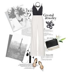 """""""All mine"""" by mycherryblossom ❤ liked on Polyvore featuring Boohoo, Topshop, Iosselliani, Oscar de la Renta, Laura Cole, Chloé, polyvorestyle, polyvorecontest and crystaljewelry"""