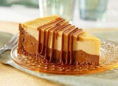 Chocolate & Peanut Butter Fudge Cheesecake