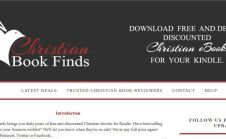 List your Christian eBook on Christian Book Finds, a high traffic site