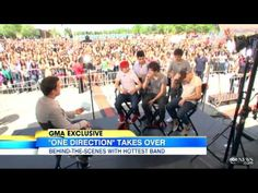 Interview With Boy Band One Direction - Good Morning America