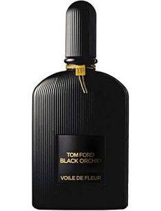 Black Orchid Voile de Fleur Tom Ford. Black Orchid Voile de Fleur follows eau de perfume Black Orchid. Dark, dense and creamy original with an exquisite note of black truffle, got its new floral, lighter version. It kept black truffle and the other top notes. The composition is reined by the white flowers: honeysuckle, gardenia and lily. Oriental notes are soft and sensuous: warm milk, cinnamon, vanilla, patchouli and sandalwood.