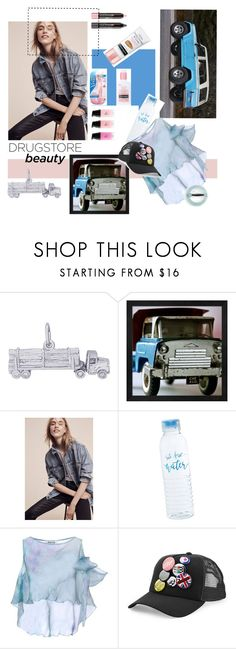 """drugstore kindness by #roxarioane"" by roxariaone ❤ liked on Polyvore featuring beauty, Rembrandt Charms, Levi's, Aishha, Dsquared2, J.Crew, contest, Beauty, personalstyle and polyvorecommunity"