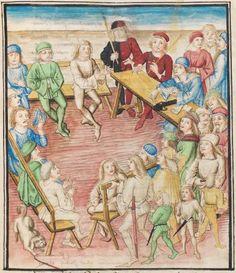 Diebold Schilling, Amtliche Berner Chronik, Bd. 3 Bern · 1478-1483 Mss.h.h.I.3  Folio 87