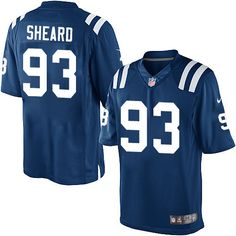 Youth Nike Indianapolis Colts  93 Jabaal Sheard Elite Royal Blue Team Color NFL  Jersey Nike c4e5717ea