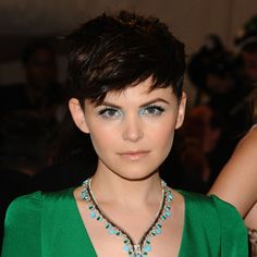 Pixie Haircuts for Round Faces | Ginnifer Goodwin Round Face Short Hairstyles for Round Faces