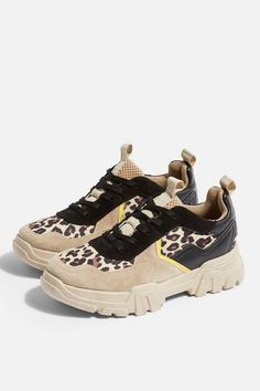 official photos ad281 8a7da Womens Casablanca Chunky Trainers - True Leopard. Lace Up Trainers,  Casablanca, Baby Shoes ...