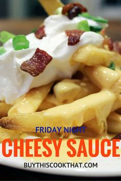 Feeling cheesy? This is the best cheese sauce recipe ever. Perfect as ...