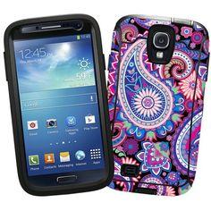 "Brilliant Jewel Tone Paisley ""Protective Decal Skin"" for OtterBox Defender Samsung Galaxy S4 Case Skinzy http://www.amazon.com/dp/B00K5U8RUU/ref=cm_sw_r_pi_dp_fpChub0R7C3GV"