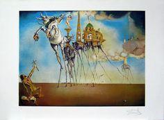 """Salvador Dalí: """"La tentación de San Antonio"""" 181/199 - Subasta Real"""